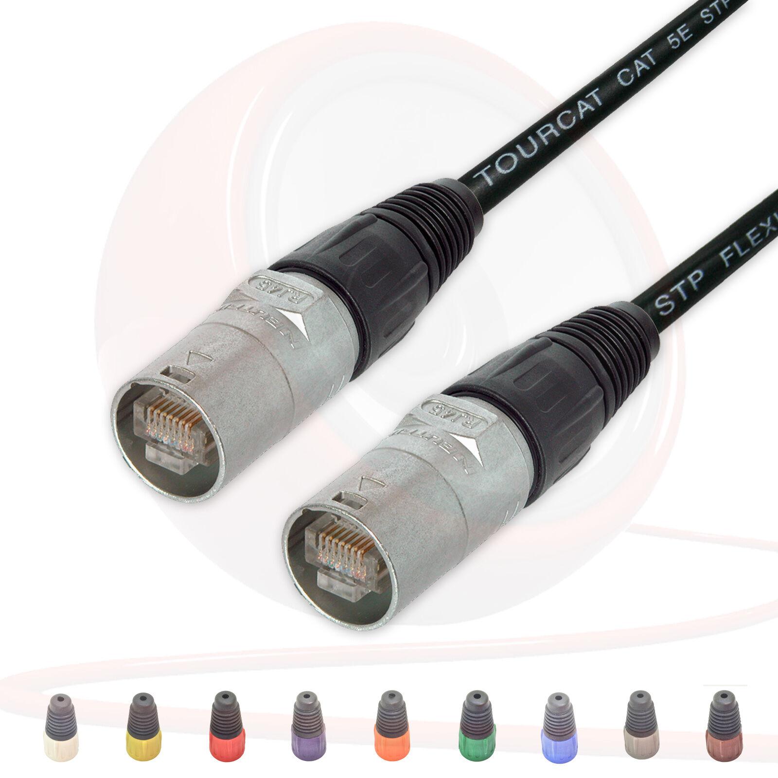 Flexible Cat 5 Wire : Flexible van damme cat e ethercon lead neutrik ne mc