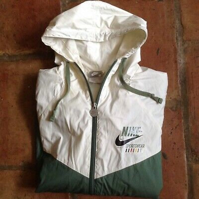 Nike Windbreaker Zip Hooded Jacket Size M