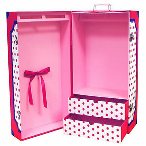 Springfield-Storage-Trunk-for-18-American-Girl-Dolls-Portable-Clothing-Closet