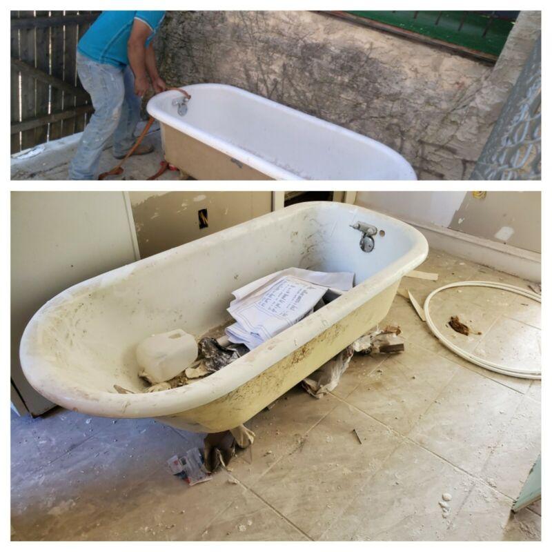 Bath Tub On Legs
