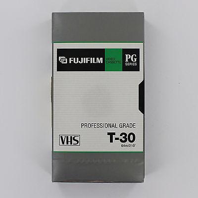 VHS T-30 Fuji Professional Grade VHS Tapes