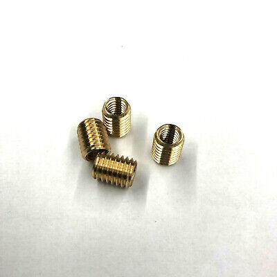1 Reduzierung Gewindeadapter Adapter Messing M10 AG auf M6 IG Länge 10 mm 0316
