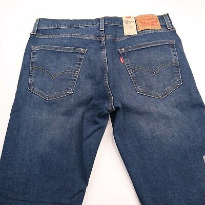 Levis 502 Men's Regular Taper Sits Below Waist Stretch Jeans Sz 34 X 32 NEW