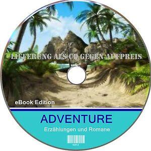 eBOOK Sammlung  ABENTEUERROMANE f. TOLINO Sony KOBO Cybook KINDLE u.a.