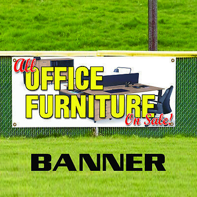 All Office Furniture On Sale Business Advertising Promotional Vinyl Banner Sign