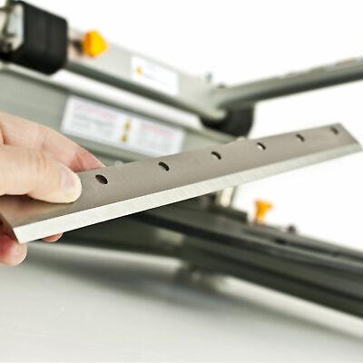 Klingen passend für BAUTEC PROFI Parkettschneider Laminatschneider Vinyl