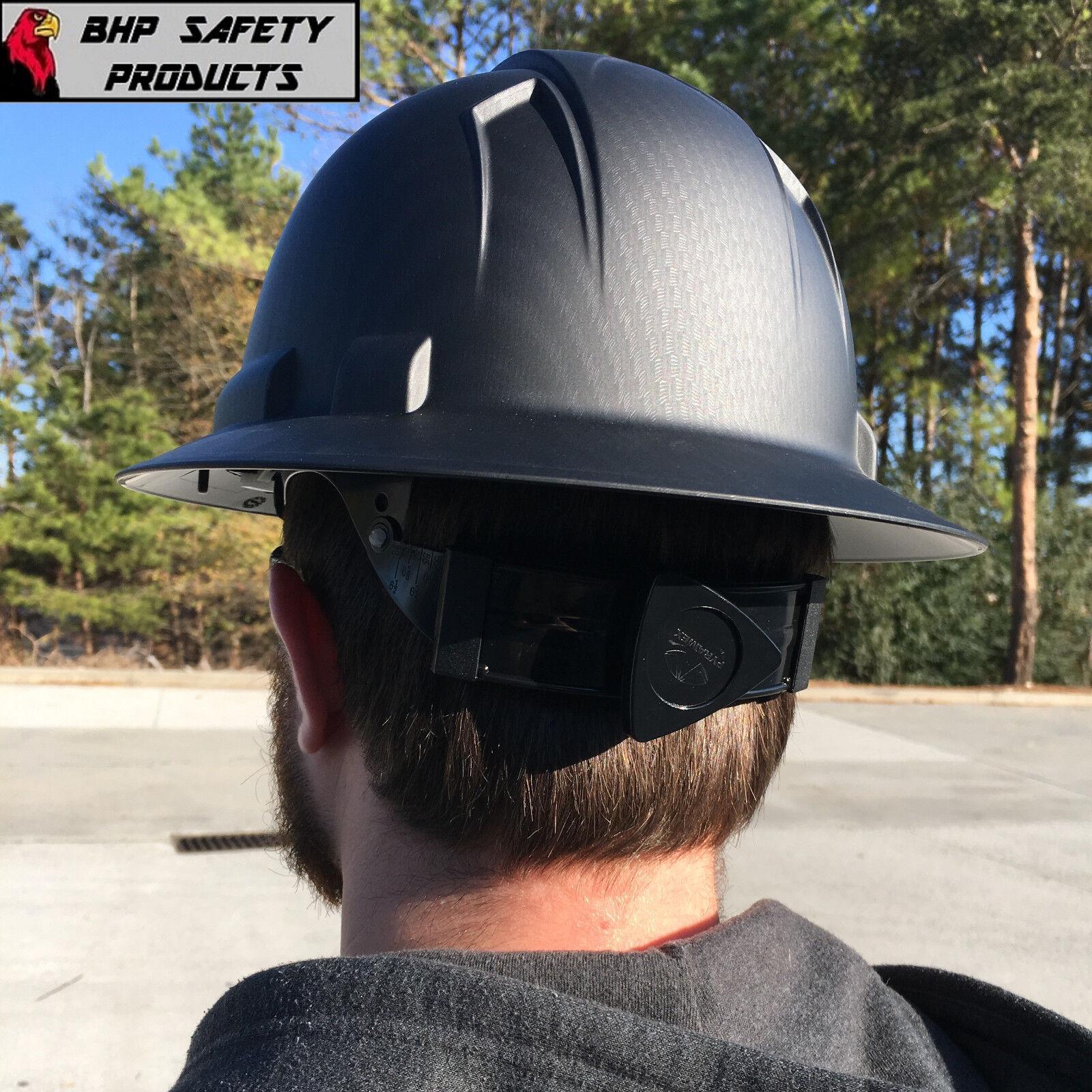 PYRAMEX RIDGELINE HARD HAT GRAPHITE PATTERN BLACK GRAY FULL BRIM SAFETY  HP54117 | Shopping Bin - Search eBay faster