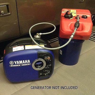 YAMAHA EF2000iS INVERTER GENERATOR 6 GALLON EXTENDED RUN FUEL SYSTEM for sale  Shipping to Canada