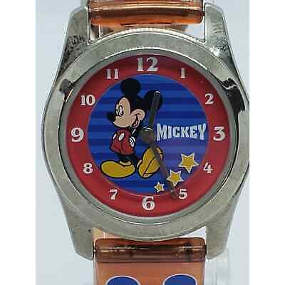 Vintage Disney by SII ml10801 Red Tone Watch Runs