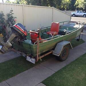 12 ft punt and motor Shepparton Shepparton City Preview
