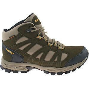 mens hi tec waterproof hiking boots size uk 7 13 walking