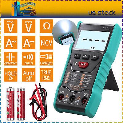 Smart Digital Multimeter True Rms Fully 6000 Counts Acdc Voltmeter Ammeter Ncv