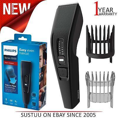 Philips HC3510 Series 3000 Hair Clipper Trimmer│Dual Cut Technology│Steel Blade