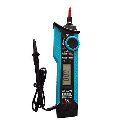 Digital Multimeter Dmm Pen Type Maximum Auto Range Logic Level Meter Cat Ii 250v