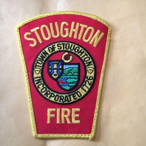 Stoughton Massachusetts Fire Patch