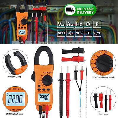 6000counts Digital Clamp Meter Tester Acdc Current Volt Ncv Multimeter True Rms