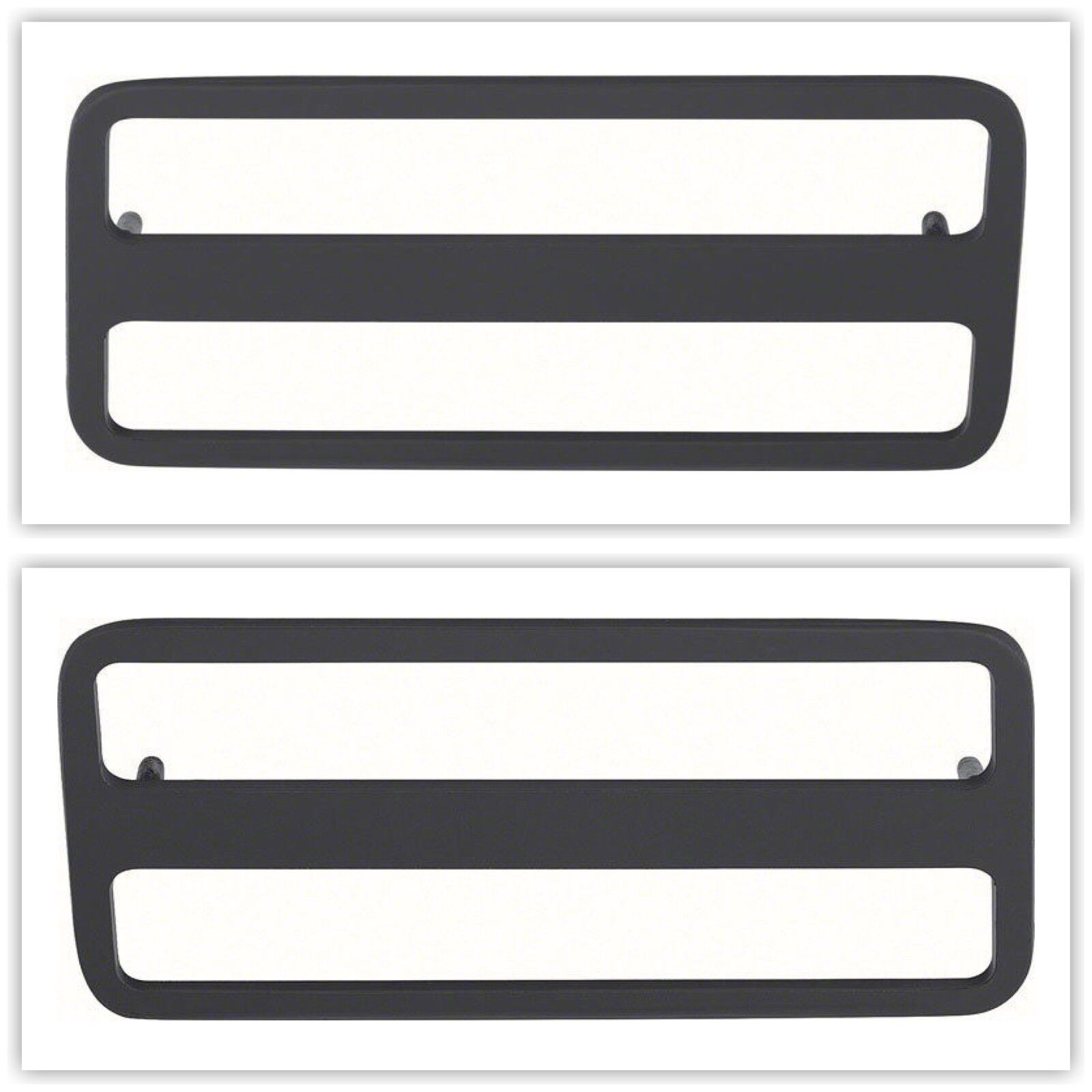 OER 479630/31 1970-81 Rear Side Marker Bezel Pontiac Firebird Set/Pair