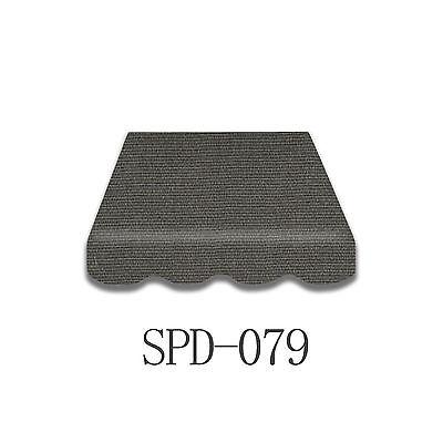 Markisenstoff Zeltst Markisenbespannung mit Volant 4,5 x 3 m Neu SPD079