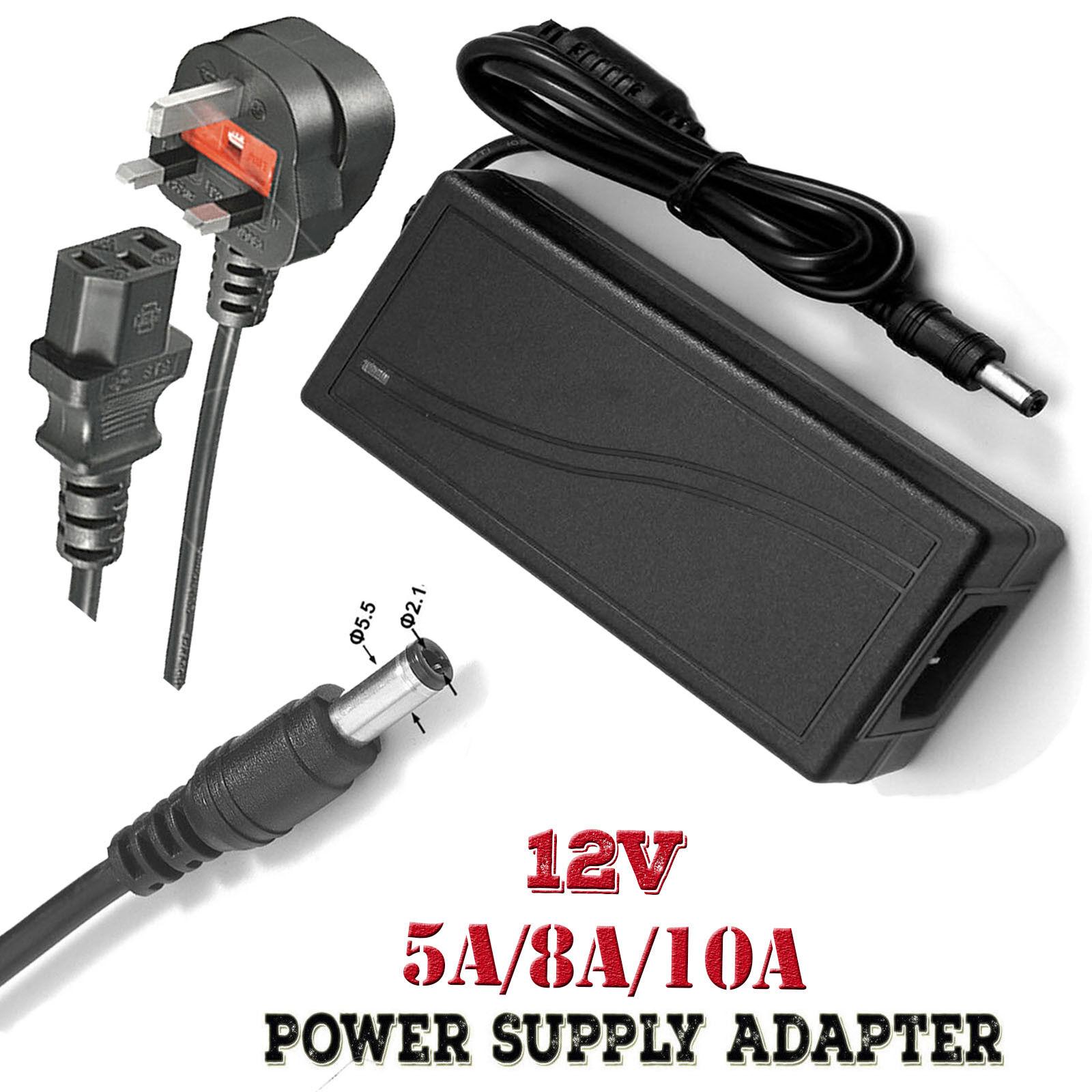 12V Yamaha PSR-185 keyboard uk ac//dc mains power supply adapter plug cable