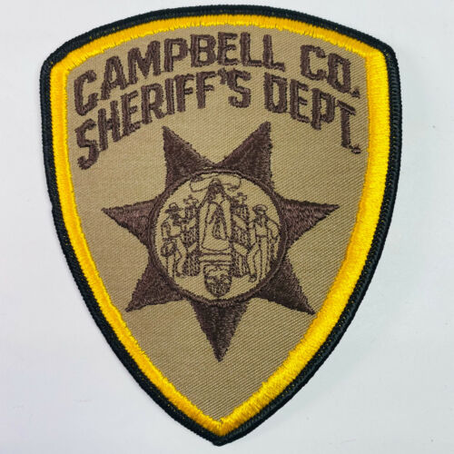 Campbell County Sheriff Wyoming WY Patch