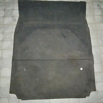 1995-2001 BMW 7-Series Trunk Cargo Floor Mat Carpet Gray OEM