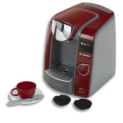 Theo Klein 9543 Tassimo Bosch Kaffeemaschine Kinder Wasserbetrieb Kinderküche