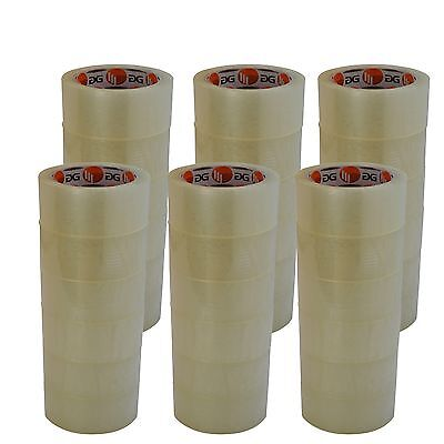 36 Rollen Klebeband Paketband Paketklebeband Packband 66m lang x 50mm breit klar