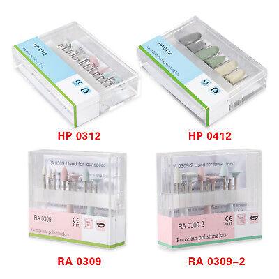 Dental Rahp 2.35 Burs Porcelaincomposite Polishing Kit For Low Speed Handpiece