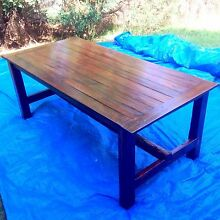 Rustic Farmhouse Table Glenwood Blacktown Area Preview