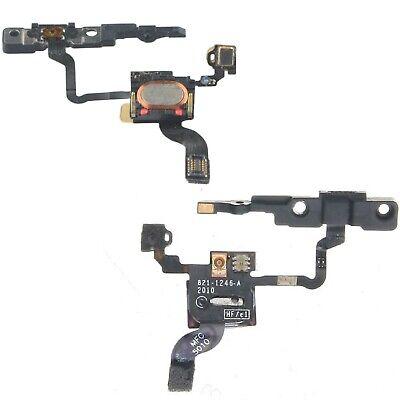 Para IPHONE 4 Power Flex Cable Con Micrófono & Oreja Altavoz y...