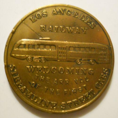 Los Angeles Railway (California) commemorative transit token - CA450D