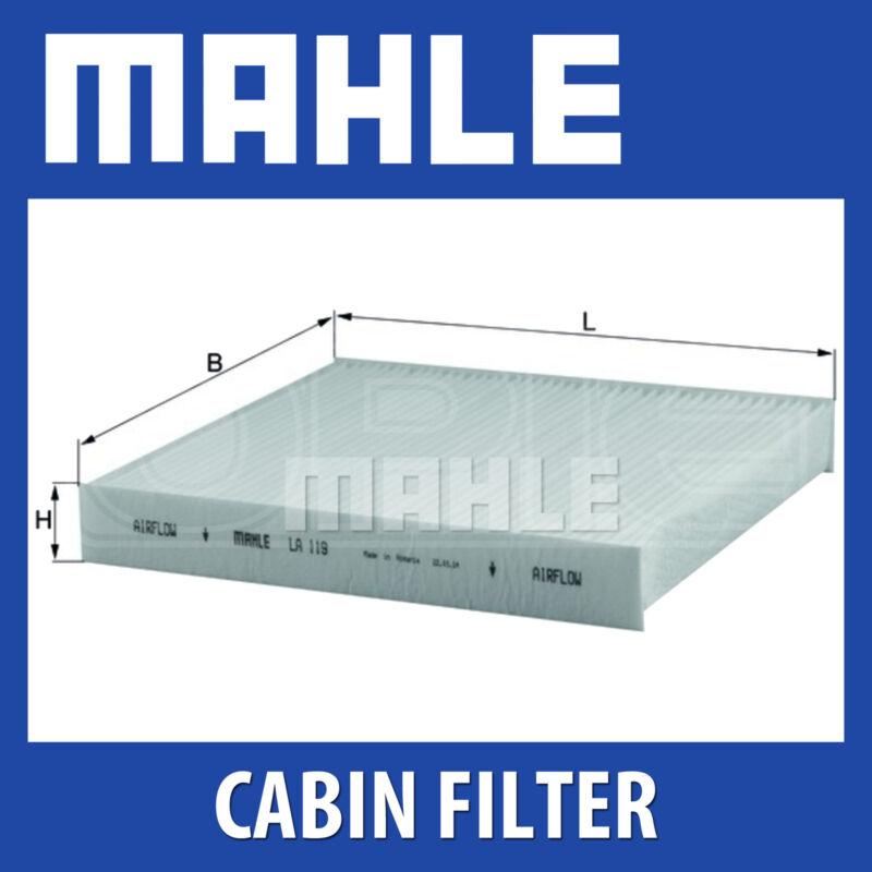 Mahle Pollen Air Filter (Cabin Filter) LA119 (fits Nissan Almera)