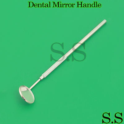 Magnifying Dental Mirror Dentist Handle Tool For Teeth Mouth Cleaning Inspection