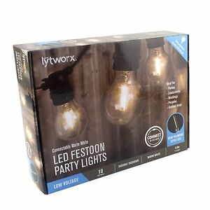 Warm White Party Light Connectable - 10 Pack (3 available) Lane Cove North Lane Cove Area Preview
