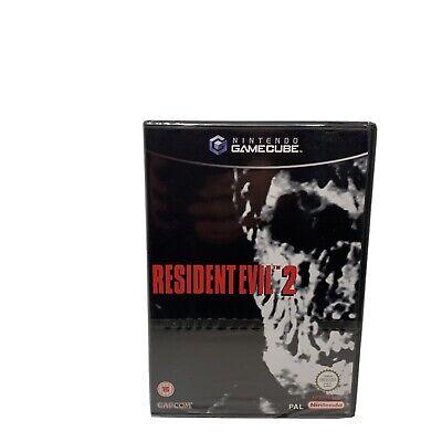 Rare UK PAL New Sealed Resident Evil 2 Nintendo Gamecube game