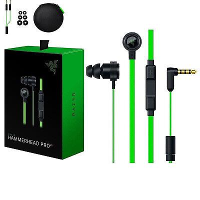 Razer Hammerhead Pro V2 In-Ear PC Music Game Headset headphone earphone with Mic