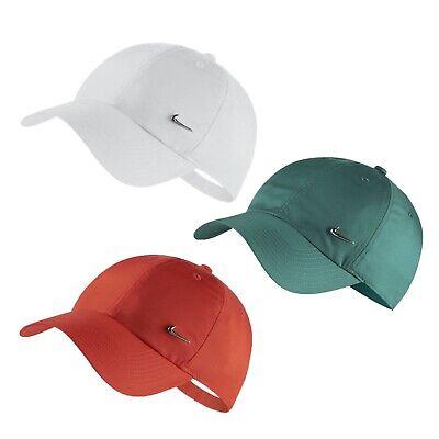 Unisex Nike Sportswear Heritage 86 Metal Swoosh Cap Adjustable Strapback Hat