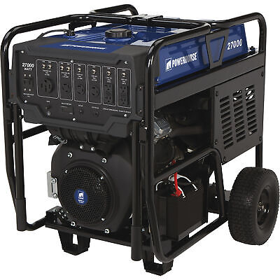 Powerhorse Generator With Electric Start- 27000 Surge Watts 18000 Rated Watts