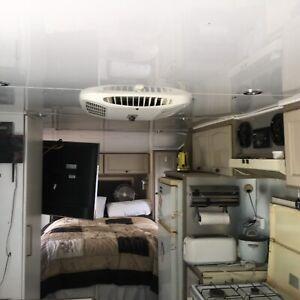 24 foot Golf  caravan