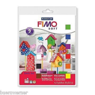 FIMO Soft 8023 10 Kreativ Set Basisset Staedtler Knete