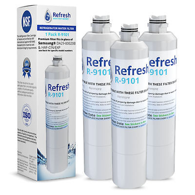 replacement for samsung rf263beaesg refrigerator water filte