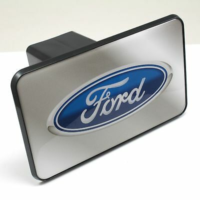 Ford Oval Hitch Cover (Ford Oval Logo Tow Hitch Cover Plug w/pin for Car-Truck-SUV 2