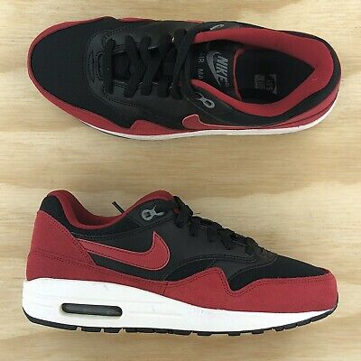 Nike Air Max 1 GS Bred Black Red White Running Shoes 555766-048 Size 5.5Y