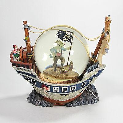 d Ship Water Globe Pirate Halloween Bats Ghost 56.53014 Rare (Haunted Ghost Ship Halloween)