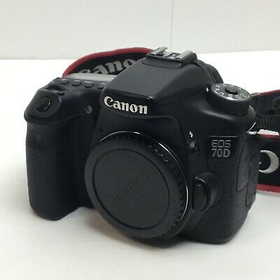 Canon EOS 70D - 20.2MP - Shutter Count: 3,900 - Digital SLR Camera - A883