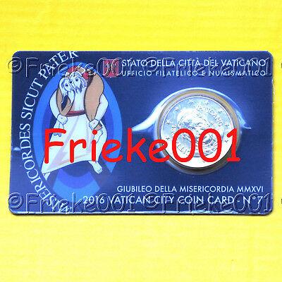 Vaticaan - Vatican - 50 cent coincard 2016.(7de uitgifte)