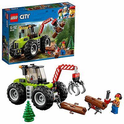 LEGO City 60181 - Starke Fahrzeuge Forsttraktor, Cooles Kinderspielzeug (Cooles Lego Spielzeug)