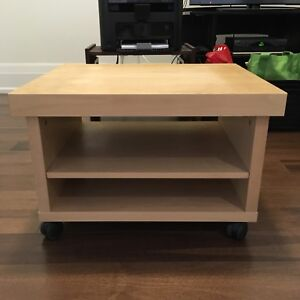IKEA TV / media stand on wheels
