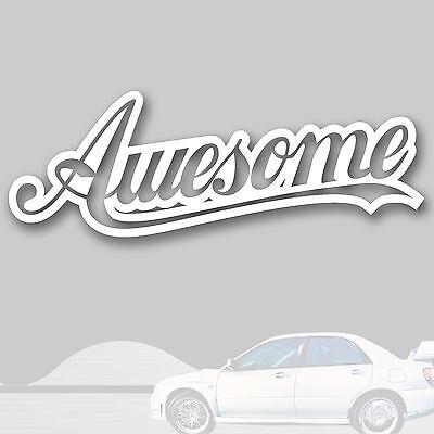 Tuning Sticker, Japan, Auto, Mazda Toyota Nissan, kfz 131w (Awesome Aufkleber)