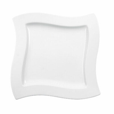 Villeroy & Boch NewWave Speiseteller Porzellan Weiß 27 cm Teller